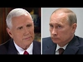 Pence: Let congressional committees probe Russian ties