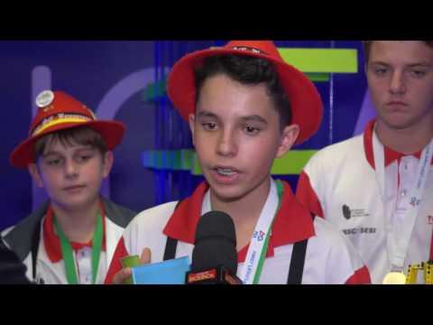 Estudantes do SESI de Brusque se destacam em torneio internacional de robótica