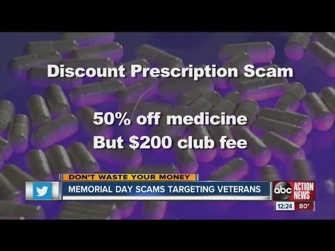 Don't Waste Your Money: Memorial Day scams target veterans
