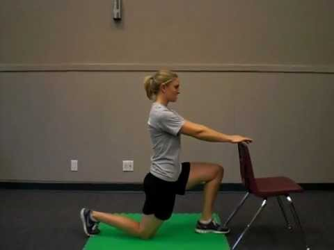 hip flexor stretches at home