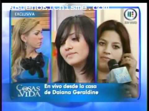 Entrevista de Rocio Sanchez Azuara a Thaily en Cosas de la Vida PARTE 4