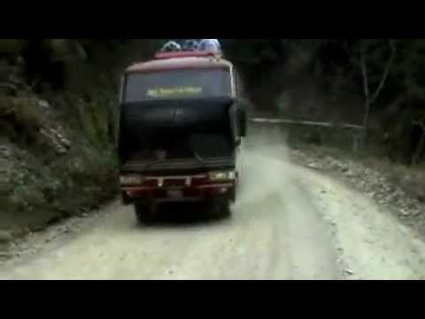 Camino a los Yungas (Bolivia)