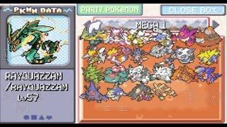 Pokemon hacks with mega evolution nds