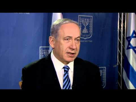 PM Netanyahu in a series of interviews to TV news channels around the world.