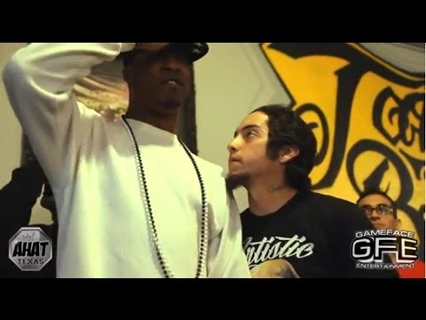 AHAT | Rap Battle | Core The Emcee vs Krazy George | San Antonio vs Dallas