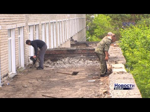 Реконструированная химзаводская поликлиника в Бердске примет первых посетителей в сентябре