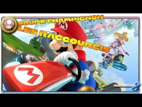 Mario kart 8 coupe champignon les raccourcis wii u for Coupe miroir mario kart wii