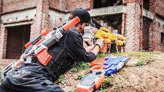 LTT Nerf War : Two Police Mission Nerf Guns | Seal X Attack Criminal Group Rescue Teammates