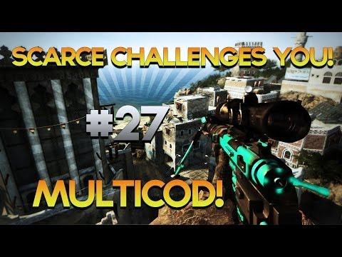 Scarce Challenges YOU! #27 - BO2, MW2 & NEW COD Ghosts Map Pack Devastation Killcam! - Obey Scarce