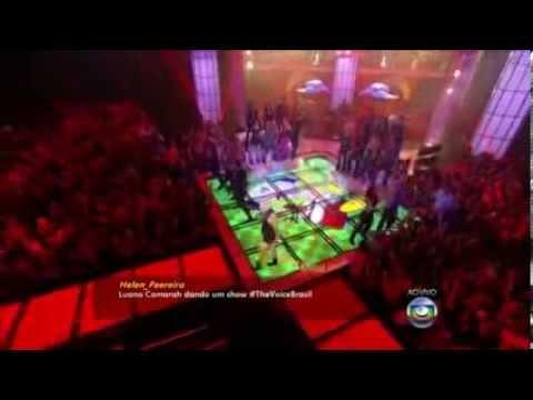 Luana Camarah - Resumo dos melhores momentos no The Voice .
