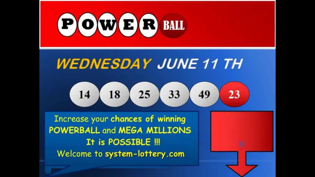 welcome to powerball