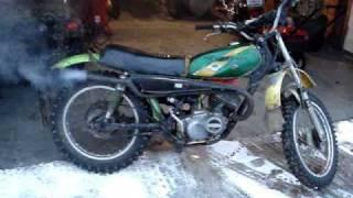Kawasaki Kd 175 Start Up!