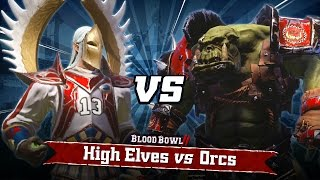 Blood Bowl 2: Orcs vs High Elves - Gameplay Trailer