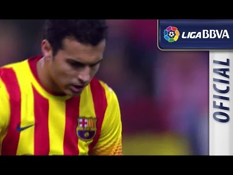 Highlights Atlético de Madrid (0-0) FC Barcelona 2013 - 2014 - HD