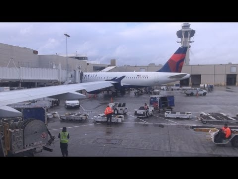 Delta Airlines flight, Salt Lake City to LAX