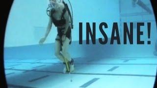 8 komische Dinge, die man unterwasser machen kann