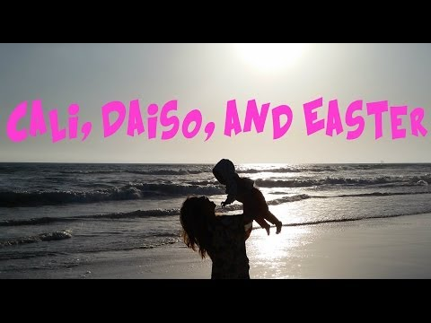 Cali, Daiso, and Easter - IJK Vlog #44