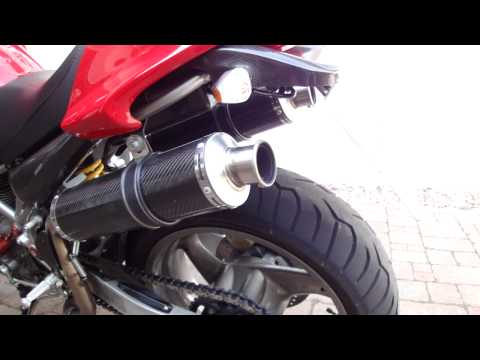 Ducati Monster 1000 S Roads Italia Auspuff