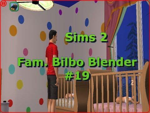 Let´s Play Die Sims 2 ♥ [Familie Bilbo Blender] #19   Mit 4 Kindern ist viel zu tun