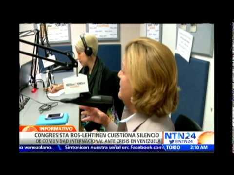 Directora de NTN24 se entrevista con Ileana Ros-Lehtinen quien resalta labor de NTN24 en Venezuela