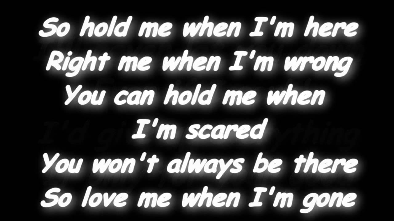 3 Doors Down - When I'm Gone Lyrics | MetroLyrics