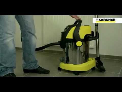 catherinetv aspirateur eau et poussi re karcher youtube. Black Bedroom Furniture Sets. Home Design Ideas