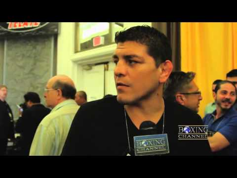 Nick Diaz on Pacquiao's win, Johny Hendricks, Roy Jones Jr. & wanting his UFC contract sold