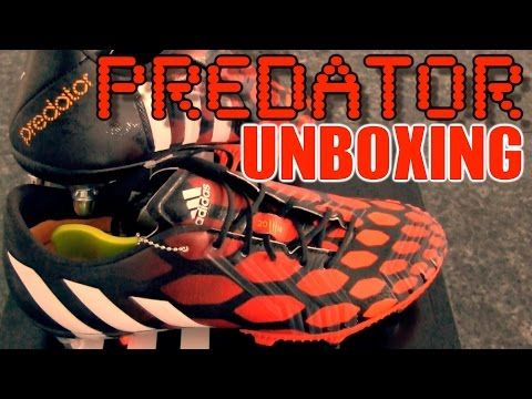 NEW 2014 Boots: Adidas Predator Instinct SG Unboxing | Red / White / Black | by 10BRA