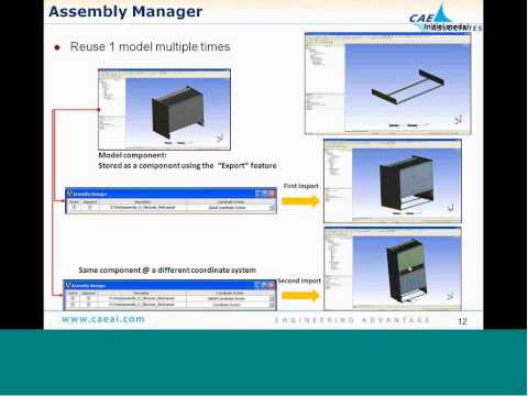 Basic Customization with ACT - ANSYS e-Learning from CAE Associates