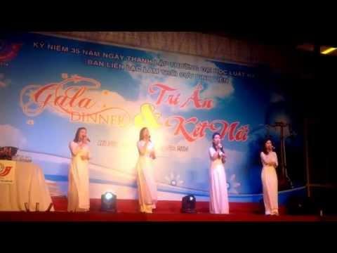 HLU- Mong ước kỷ niệm xưa - Tiết mục các cô giáo khoa HCNN biểu diễn tại Gala Dinner 6/11