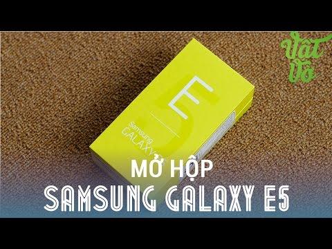 [Review dạo] Mở hộp & đánh giá nhanh Samsung Galaxy E5 - cấu hình tốt, màn hình đẹp, camera ngon