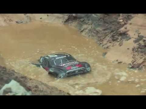 myslash Traxxas Slash 4X4 Ultimate Sandakan mud water dirt jump slow motion bashing