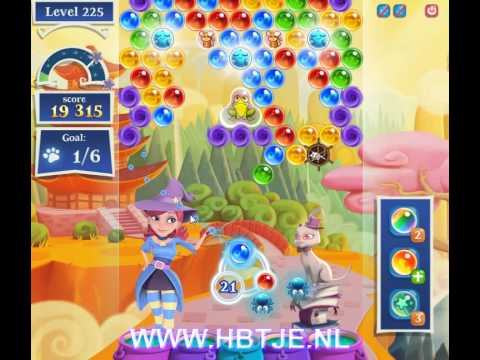 Bubble Witch Saga 2 level 225