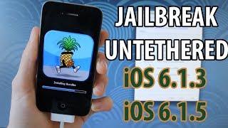 IOS 6.1.3, 6.1.5 : Jailbreak Untethered + Hacktivation