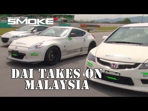 Daijiro Yoshihara Travels to Sepang F1 Track - Malaysia - Behind The S