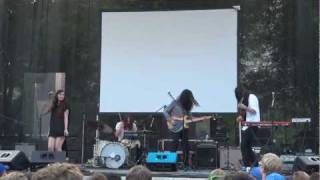 VIDEO: Cults at Lollapalooza