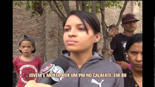 Enterrado jovem morto por polical durante protesto no Bairro Calafate em BH