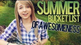 Summer Bucket List of Awesomeness