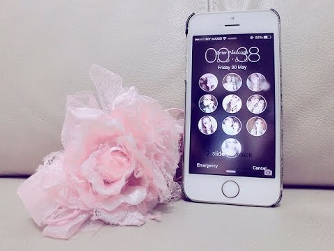 Video Làm ảnh iphone lock screen [fake iphone lock screen]