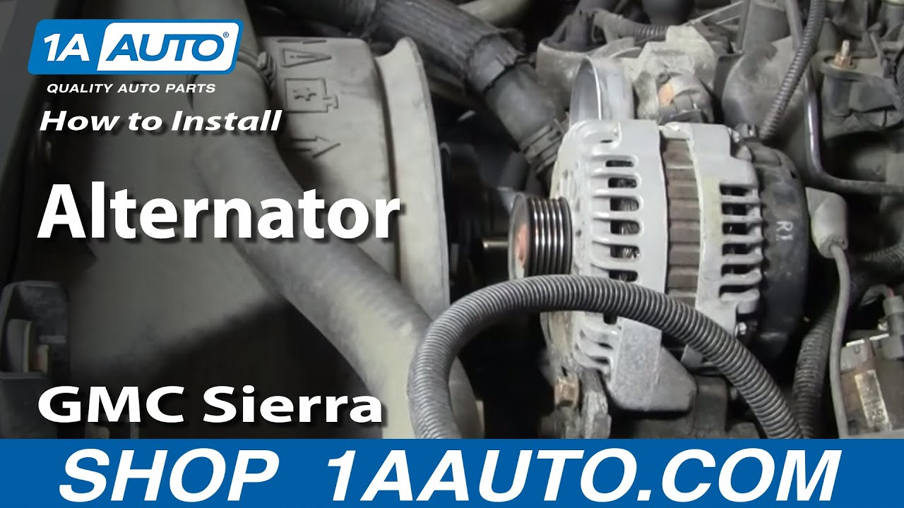 How To Remove Alternator On A 2000 Chevrolet Express 1500