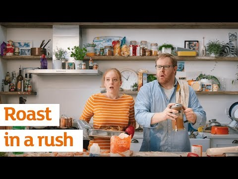 Sainsbury's Easter 2018 – Roast in a Rush!