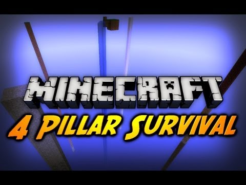 Minecraft: Mob Trap, I Hate You! - 4 Pillar Survival w/ CavemanFilms - Ep. 11