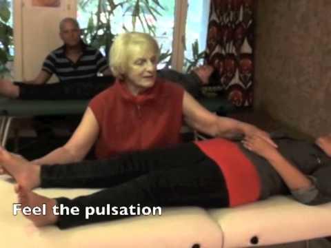 Healing Finger Game 21: Acupressure FINGER-TOE lying