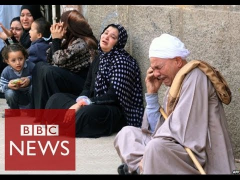 Egypt's crackdown on Muslim Brotherhood explained in 60 seconds - BBC News