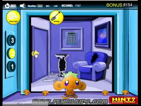 Game Chú Khỉ Buồn 9