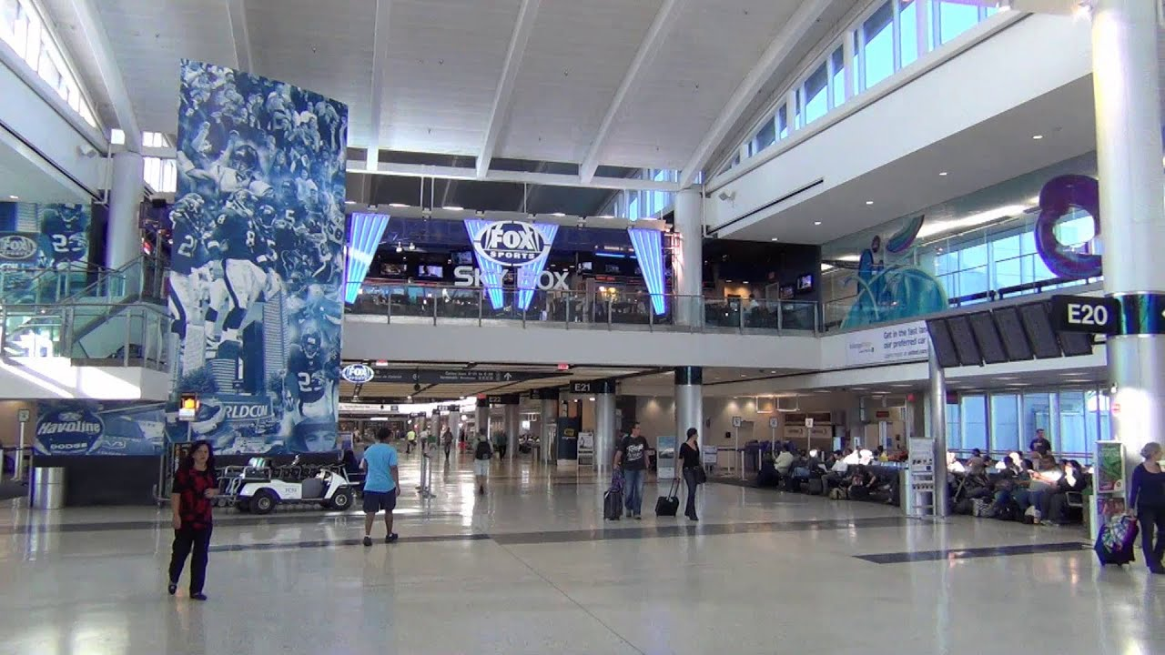 A Tour Of Houston Intercontinental Airport S C D And E