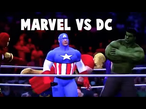 WWE'13 *****Marvel vs DC comics*****