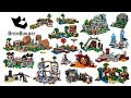 All Lego Minecraft sets compilation Lego Speed Build