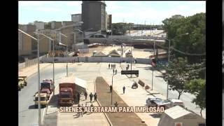Assista a v�deos da implos�o do viaduto na Avenida Pedro I em Belo Horizonte