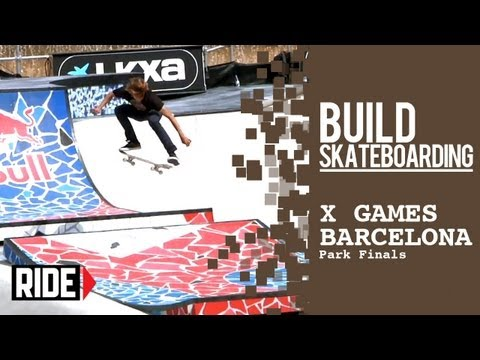 X Games Barcelona 2013 -- Bloodbath in Barcelona Bowl, Barros Battles Caples in Park